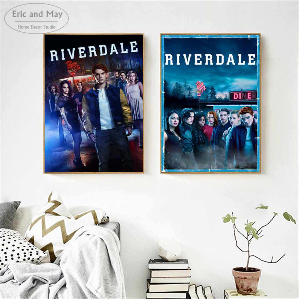Riverdale Original TV Series Show Posters and Prints Wall art Decorative Picture Canvas Painting For Living Room Home Decor