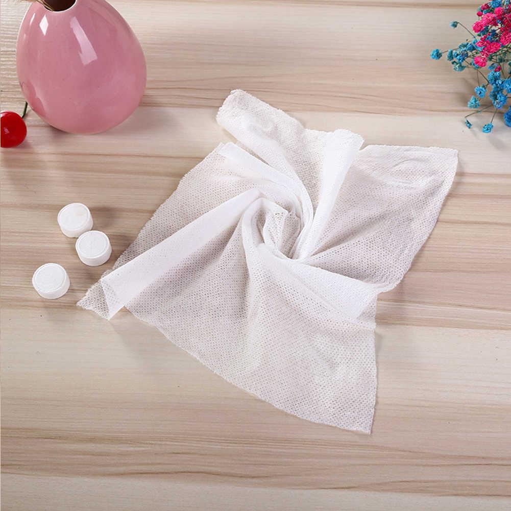 10/20cs 18*24cm skompresowana kąpiel twarz podróż wielokrotnego użytku ręcznik myjka jednorazowy ręcznik podróżny do twarzy i rąk