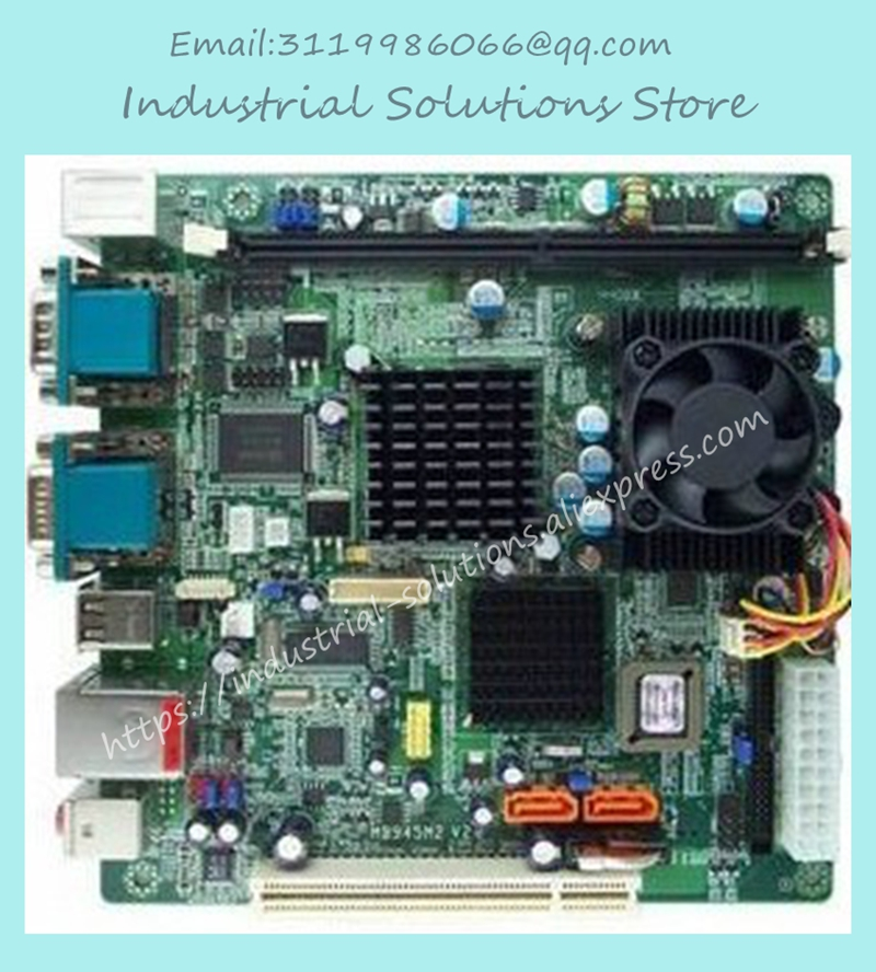 M945m2 945GM-479 Motherboard 4com Serial Board Cm1.2 g Mini-itx Industrial Motherboard 100% tested perfect quality m945m2 945gm 479 motherboard 4com serial board cm1 2 g mini itx industrial motherboard 100