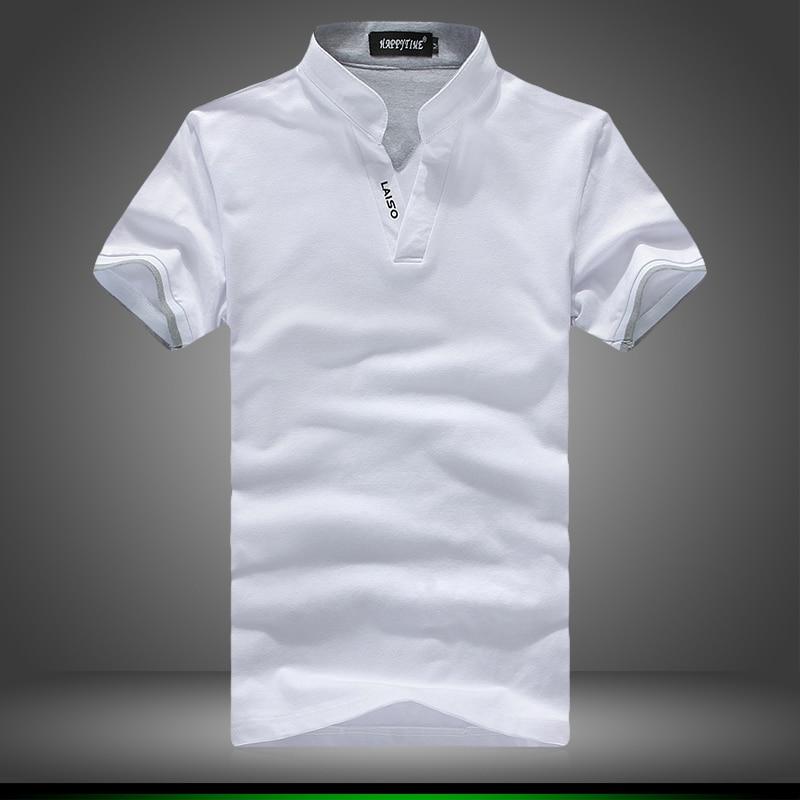 522dc871082a 2018 Nouvelle Polo Chemises Hommes Design De Mode À Court Chemise À Manches  Mâle coton Respirant Slim Fit Mens T shirt Plus La Taille 4XL 5XL dans Polo  de ...