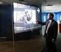 Бесплатная Доставка! 1.524 м * 2 м голографическая пленка салон приложения, прозрачный экран обратной проекции фильма