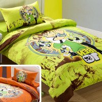 100 Cotton Cartoon Kids Bedding Set Football Bed Linen Set For Boy Children Bedclothes Bed Sheet