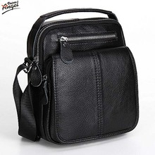 Fashion Genuine Leather Men's Messenger Bags Man Portfolio Office Bag Quality Travel Shoulder Handbag for Man 2016 Dollar Price