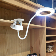 new USB 8.4W Touch Switch Colors Rotatable Desk Lamp Eye Protection 1200mAh 18650 Stepless Dimming Led Light Table D30