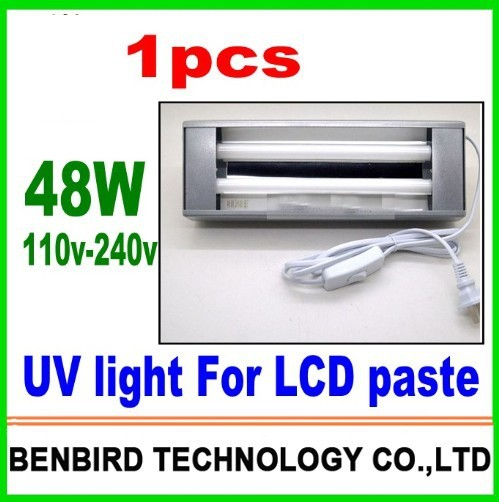 1pcs high quality hotsale 48W Curing uv light Ultraviolet lamp to bake loca glue for refurbish lcd B4089