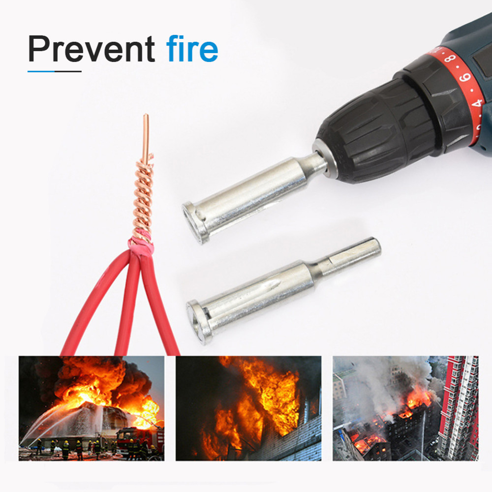 1pc Twist Connector Electrical Line Device Cable Wire Stripper Automatic Stripping Doubling Machine Electrician Hand Tool New B4(China)