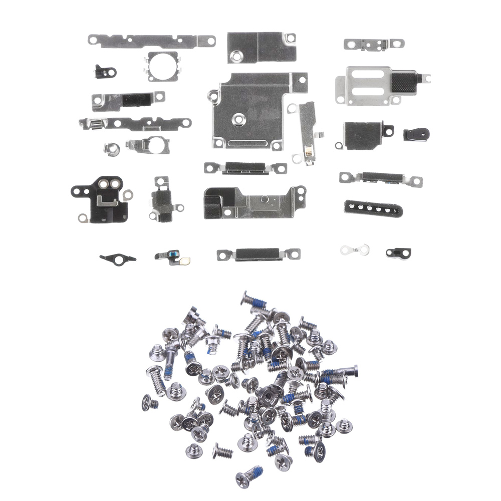 For IPhone 6 6s 6 Plus 6s 7 Plus Full Set Small Metal Internal Bracket Shield Plate Kit Full Screw Set With Bottom Screws