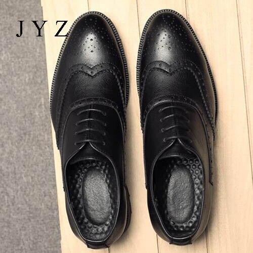 Vintage Mode Herren Oxfords Hochzeit Kleid Schuhe Partei Schuhe