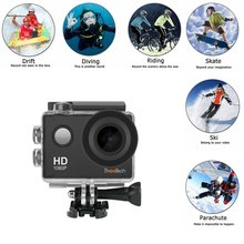 Action Camera Wifi HD 1080P Sports Camera Waterproof 30M Underwater Camera Motorcycle Bike Cycling Helmet Camera for kids