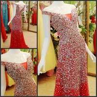 Luxury Crystal Formal Dress Formal Dress Toast The Bride Married Formal Dress Evening Dress Xj854100