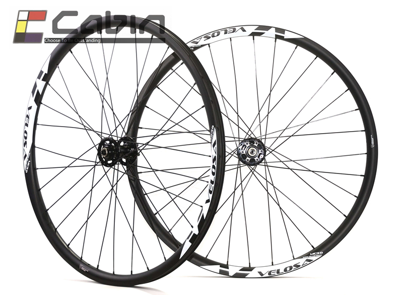Velosa MC30 углерода колесная, спереди 100x15, сзади 142x12 29ER 35 мм широкий MTB углерода колеса, AM/DH углерода горный велосипед колесо