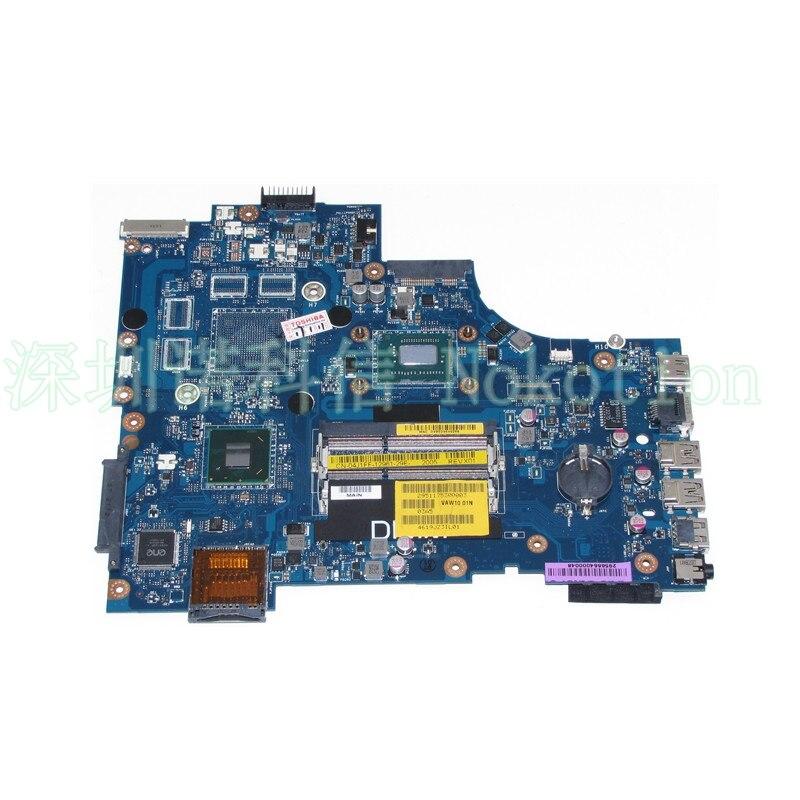 VAW11 LA-9102P CN-04J1FF 04J1FF For DELL Inspiron 17R 3721 5721 laptop motherboard SR0N8 I5-3317U CPU DDR3
