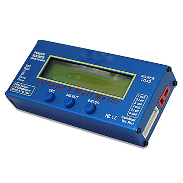 Watt Meter For Speakers: Digital 60V 100A Balance Voltage Power Analyzer Watt Meter