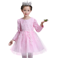 Autumn Winter Girl Dress For Girls Clothes Kids Wedding Party Dress Girls Princess Dresses Vestidos Children