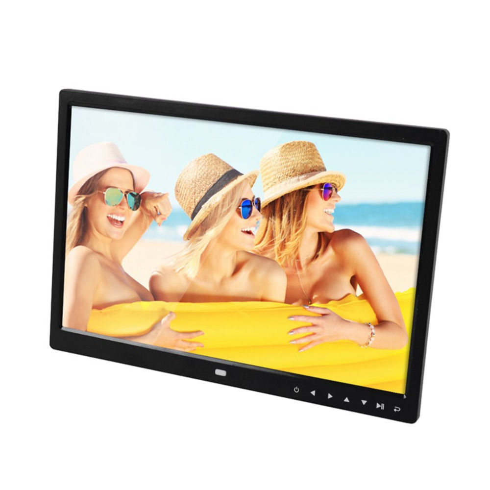 Digital Photo Frame Electronic Album 15 Inches Front Touch Buttons Multi-language LED Screen Pictures Music Video Perfect GiftDigital Photo Frame Electronic Album 15 Inches Front Touch Buttons Multi-language LED Screen Pictures Music Video Perfect Gift