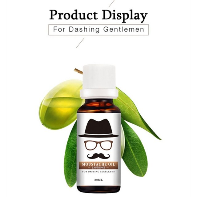 Facial hair grow beard conditioner oil 100% natural accelerate Beard growth oil Men beard grooming products