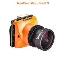 Original Runcam  FPV Camera Micro Swift 3 600TVL 2.1/2.3MM Lens 1/3″ SONY Super HAD II CCD OSD NTSC PAL for Racing Drone