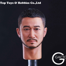 Jason Wu Headplay GACTOYS GC026 1/6 Scale Tough guy Jing Head sculpt Carving Model Fit 12 Action Figure Accessory