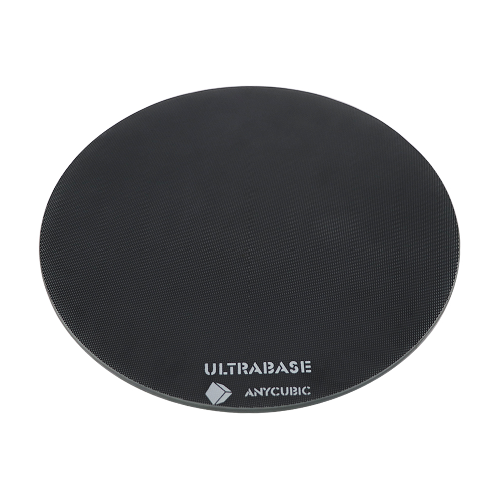 Diameter 200mm/240mm hotbed Ultrabase Platform round Build Surface Glass plate for ANYCUBIC Pulley/Linear Plus Kossel 3D Printer