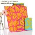 Gaze dupla towel algodão fino lavável towel com a cor de fundo é fácil de secar towel china oferta especial.