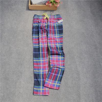 Женские брюки; длинные брюки; тканые хлопковые брюки для сна; женские брюки - Цвет: Rose red