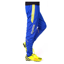 Blank style soccer pants men 17/18 Autumn Winter exercise Sports trousers football training pants climbing running jogger pants(China)