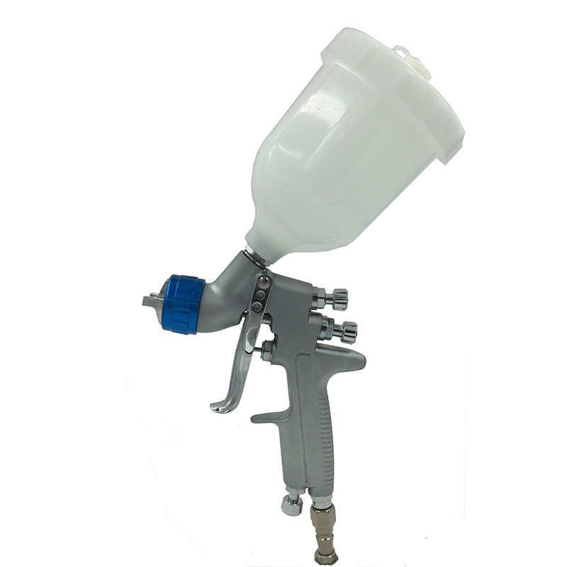 SAT0080 professional lvmp airbrush paint spray air paint spray gun nozzle pneumatic tool gravity feed spray gun for car painting r71g new professional mini spray pain gun gravity feed type paint gun airbrush mirror painting gun for car painting tool
