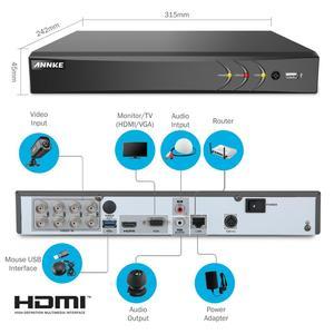 Image 4 - Annke H.265 4K 8CH Ultra Hd Cctv Surveillance Dvr 5IN1 Digitale Video Recorder Bewegingsdetectie Voor 5MP 8MP Analoge ip Camera