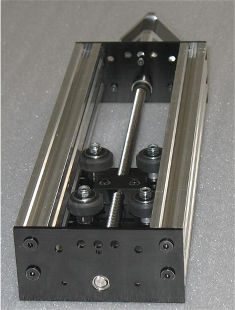 Cnc Machine Parts Nema17 Nema23 Stepper Motor 500mm Actuator Kit Z Axis Cnc Slide Diy Cnc Plasma Oxy Router Linear Motion Mill