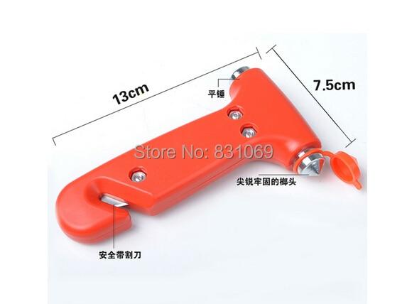 1pcs Car Safety Hammer Life-saving Hammer Multifunctional Escape Hammer Emergency Hammer Car Escape Tool Window Breaker