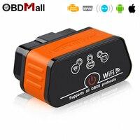 ELM 327 OBD2 WIFI iCar2 Chẩn Đoán Tự Động Scanner ODB2 Autoscanner ODB II EML 327 Wi-Fi cho Iphone ELM 327 Wifi Automotive Scanner