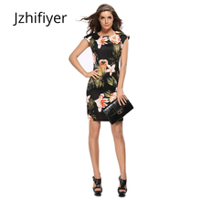 dress women cheongsam summer mujer vestidos bodycon fashion feminine mini floral black pencil dresses