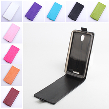 Fashion 9 colors Flip Leather Cover Case for Lenovo A5000 A 5000 Vertical Back Cover Magnetic Protective Shell Open Up and Down