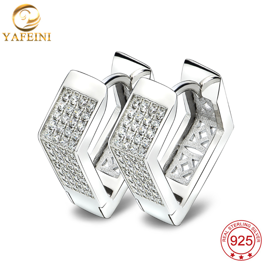 908d08975 YAFEINI 925 Sterling Silver Hoop Earrings Heart Shape Find Jewelry Women  Earrings Wholesale Free Shipping GNE1012. `