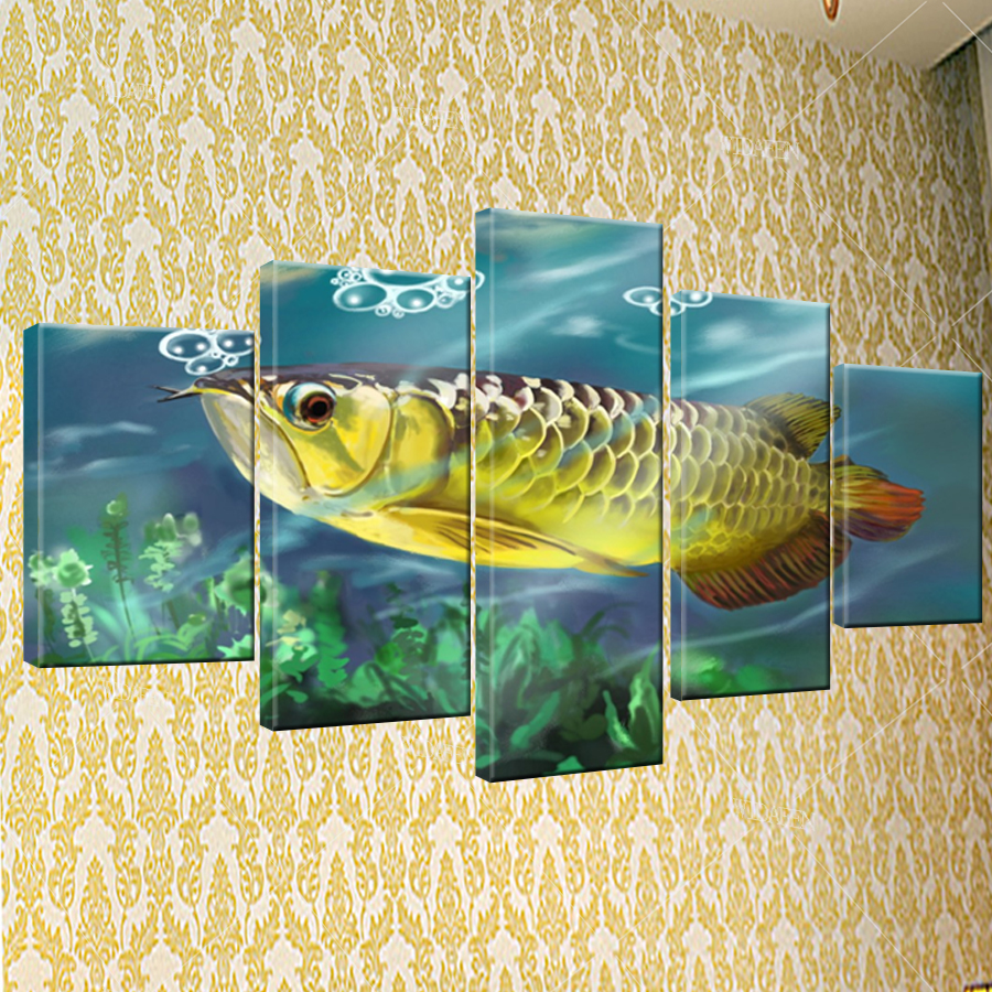 Unique Fish Wall Decorations Motif - All About Wallart - adelgazare.info