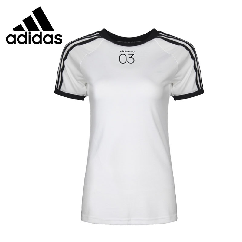 Original New Arrival 2018 Adidas NEO Label CS 3S Tee Women's T-shirts short sleeve Sportswear original new arrival 2017 adidas neo label m cs graphic men s t shirts short sleeve sportswear