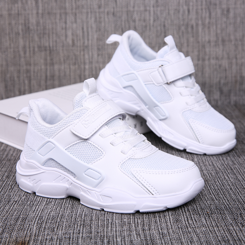 ULKNN Boys Sports Autumn 6 Children Boys 12 Sports Shoes 15 Years Old 10 Kids 9 White Black Blue Shoe Sneakers For Students