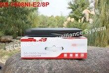DS-7608NI-E2/8 P 8-КАНАЛЬНЫЙ видеорегистратор с 2 SATA и 8 портов POE, HDMI и VGA выход Встроенный Разъем & Play NVR POE