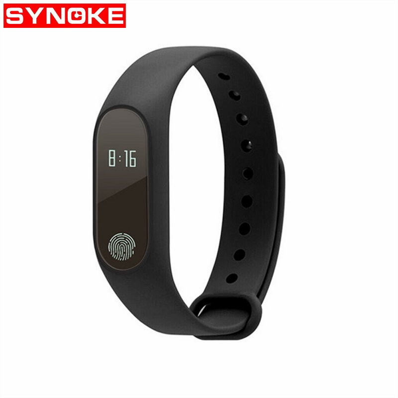 Sport Heart Rate Smart Watch Men Women Black Led Touch Screen Watch Silicone Bluetooth Digital Wristwatch For Apple IOS Android
