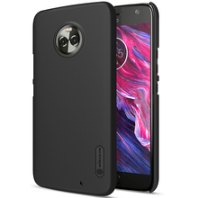 NILLKIN case for moto x4 5.2 inch Super Frosted Shield back cover with free screen protector and Retail package