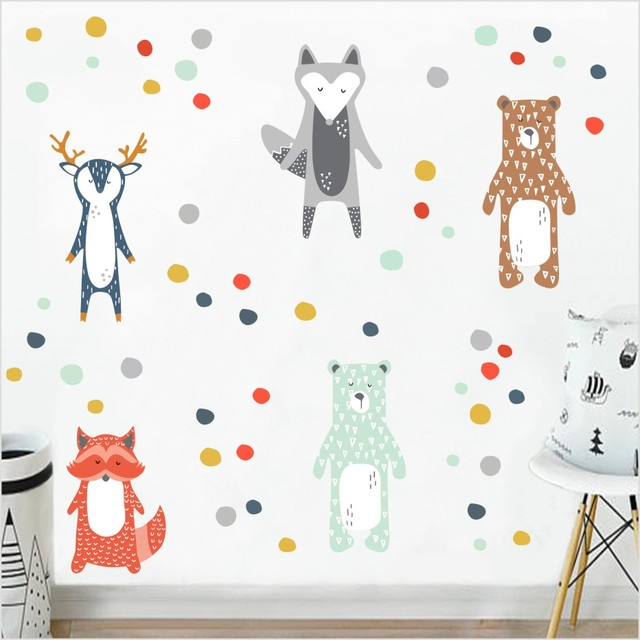 Forrest Animals – Wall Sticker For Kids Room