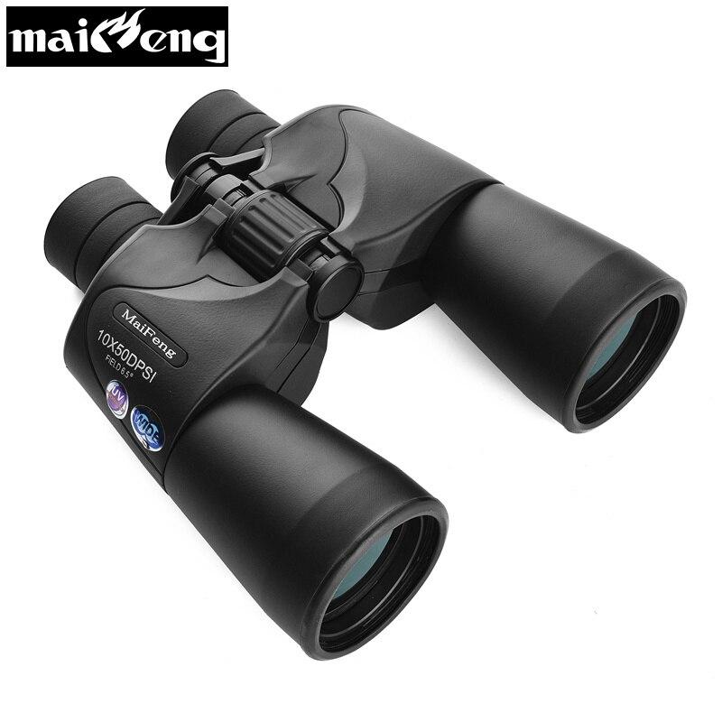 Russian Military Binoculars Hd 10X50 Nitrogen Waterproof Telescope Portable Long Range binoculo for Hunting Lll Night Vision