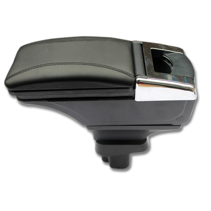 Black Interior Storage Box Center Armrest Console Fit For Suzuki SX4 2007-2012 high quality black storage box armrest center console for ford focus 2012 2014 only fit for low equiped model