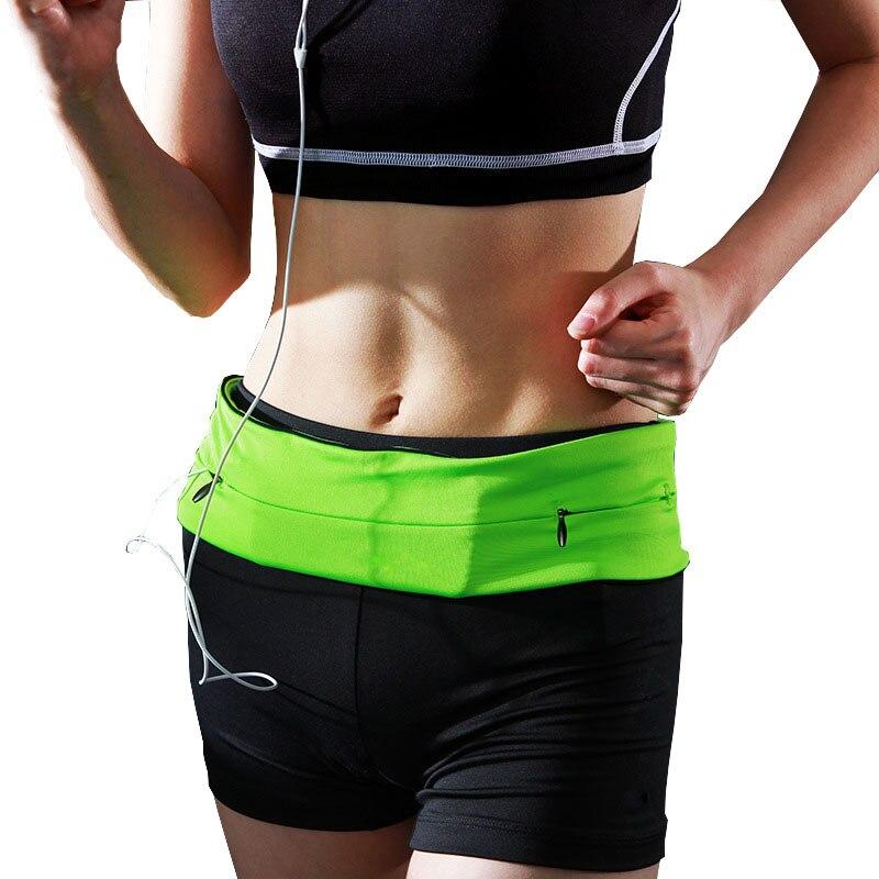Prix pour S/M/L/XL de Course Taille Sac Pour Mobile Téléphone Femmes Hommes Sport Taille Pack Élastique Gym taille Ceinture de Course Accessoires 3 Couleurs