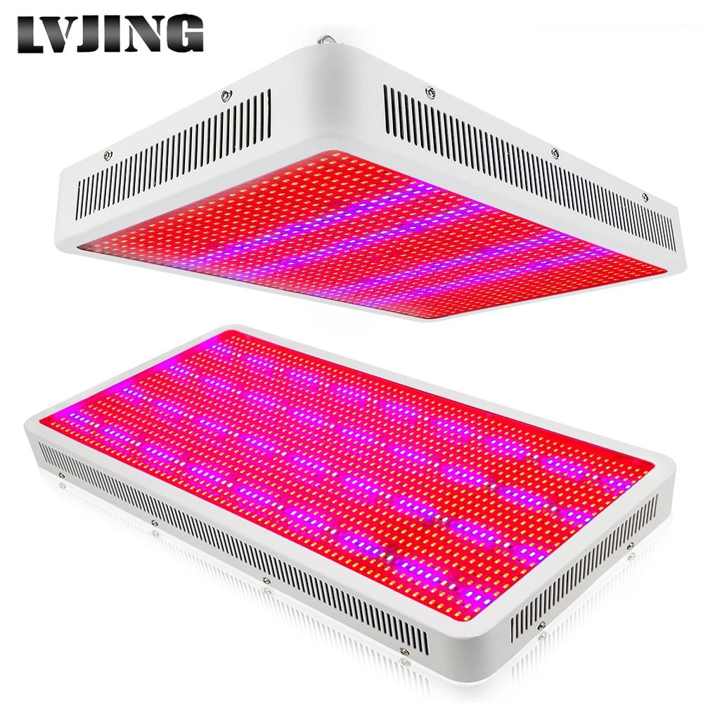 300 W 600 W 800 W 1200 W 1600 W espectro completo LED crecen lámparas de luz para la planta de la flor veg Hydroponics sistema crecen/florecen Dropship
