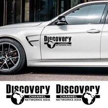 Porta lateral do carro adesivo envoltório de vinil auto descoberta geográfica nacional decalques decoração automóveis estilo tuning acessórios do carro