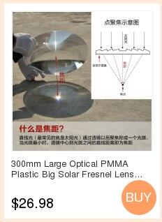 High Quality solar fresnel lens