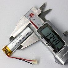 3,7 в 801350 081350 500 мАч с защитной платой, используется для bluetooth MP3, MP4 литиевая батарея
