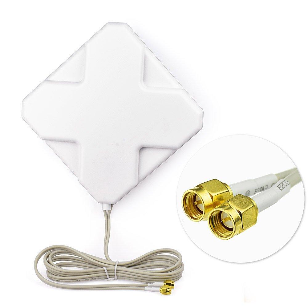 Superbat 4G LTE Antenna 698-960/1710-2690MHZ 35db Antenna Booster - Communication Equipment