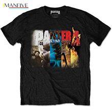 Pantera Albums Dimebag Darrell Thrash Metal Licensed Tee T-Shirt Men Newest 2019 Fashion Stranger Things T Shirt Men darrell kinsey torsino